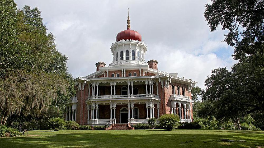 This antebellum home is named Longwood and it is located in Natchez, Mississippi.