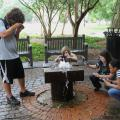 More than 500 youth ages 14-18 came to Mississippi State University in late May for State 4-H Congress to compete and improve their skills. These youth were shooting photographs as part of a 4-H photography workshop. (Photo by MSU Ag Communications/Scott Corey)