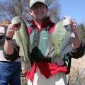 A successful fisherman knows that a productive and healthy lake is important to produce large fish. (Photo by MSU Extension Service/Wes Neal)