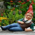 Gnomes are the creatures of woodland legend representing the earth, and they make a fun addition to Mississippi gardens. (Photo courtesy of Wikimedia Commons)