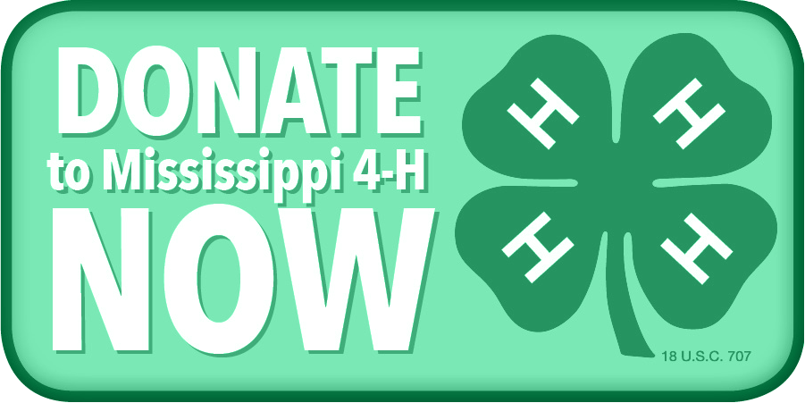 Click to Donate to Mississippi 4-H Now.