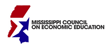 Mississippi Council on Economic Education logo