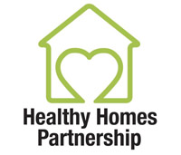The Healthy Homes Partnership logo.