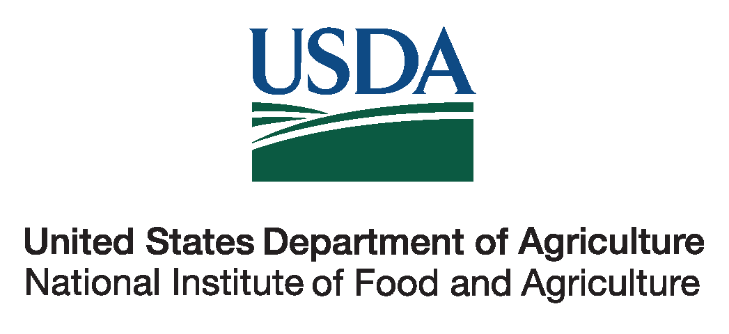 USDA National Institute of Food and Agriculture logo.